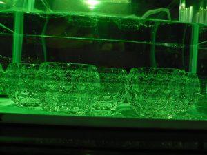 光音共演コンピュータによる水槽の演出