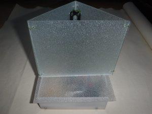 すりガラス型LEDランプ